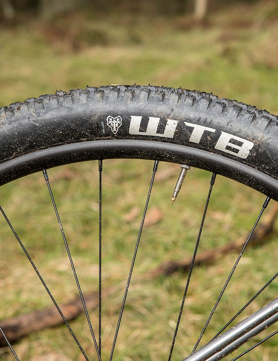 The WTB tyres performed well on trail centre surfaces.