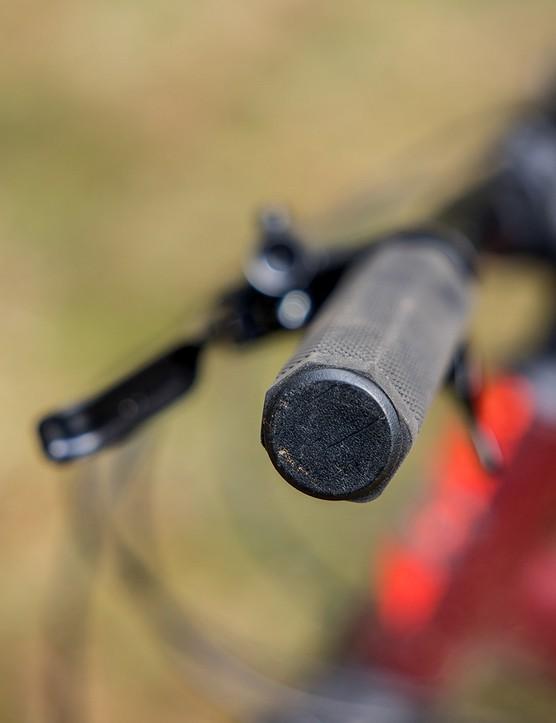 Carrera Fury hardtail mountain bike has unbranded grips
