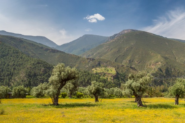 Sierra de Lújar mountain range, Sierra Nevada, Spain