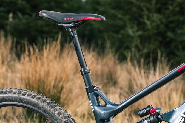 Intense Recon post with a WTB Silverado Sport saddle