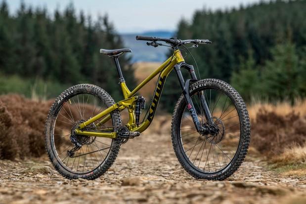 Pack shot of the Kona Process 153 DL 29 full suspension mountain bike