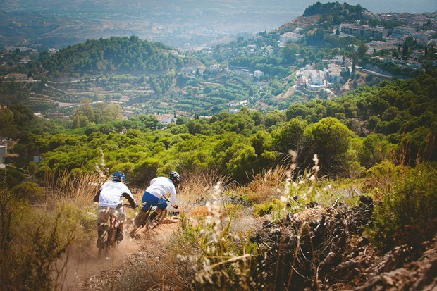 Mountain biking in Malaga