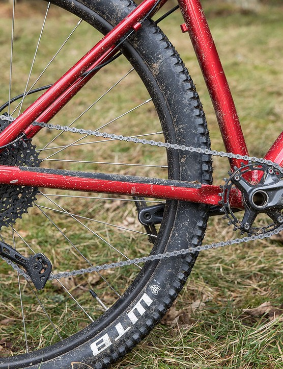 The Deore 1x drivetrain performed well.
