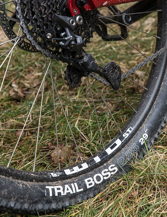 The WTB tyres are tubeless ready.