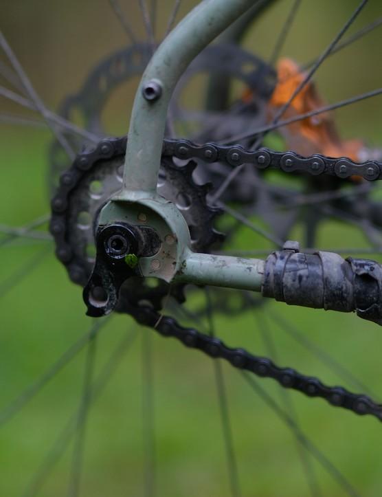 Liam Glen HT550 winner's bike Stooge Cycles Scrambler