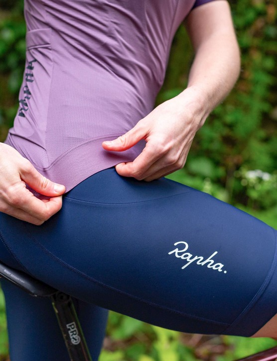Rapha women's cycling jersey