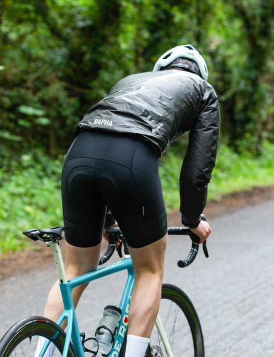How to dress for summer cycling, Rapha Shakedry jacket