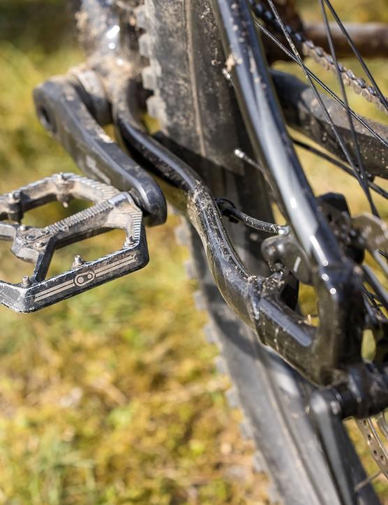 Chainstays on the Merida Big.Trail 500 hardtail mountain bike