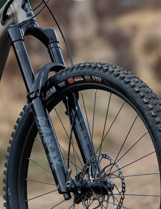 Fox 38 fork on the Scott Ransom 920 full suspension mountain bike