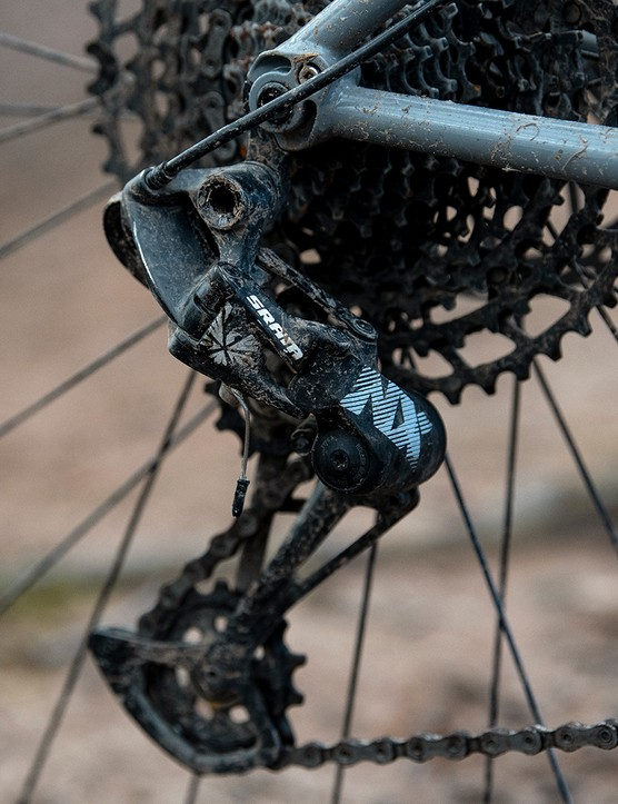 The Sonder Signal ST NX hardtail mountain bike is equipped with a SRAM NX drivetrain