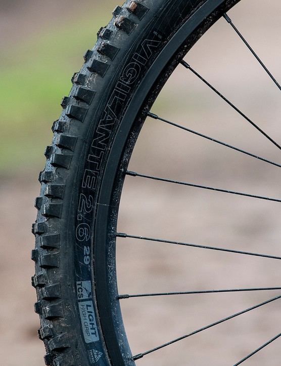 WTB Vigilante tyre on the front of the on the Sonder Signal ST NX hardtail mountain bike