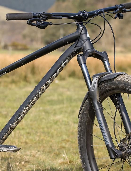 RockShox Judy Silver TK fork on the Specialized Fuse 275 hardtail mountain bike