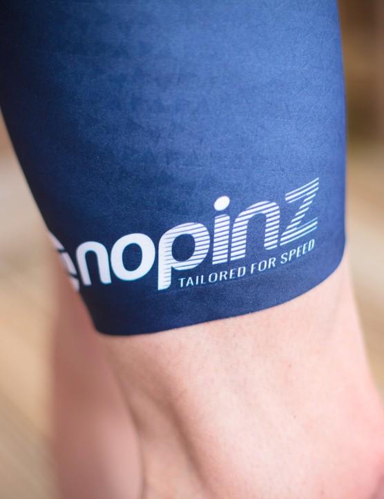 NoPinz Flow suit thigh detail