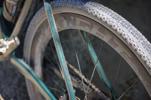 Maxxis Rambler tyre on Knight carbon wheel