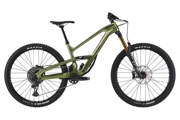 Pack shot of the Cannondale Jekyll 1 full suspension mountain bike