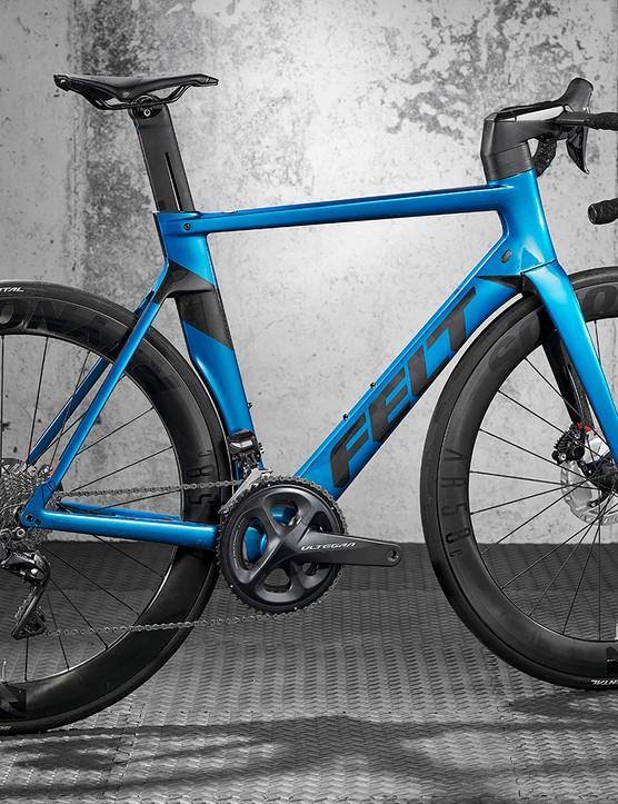 Pack shot of the Felt AR Ultegra Di2 road bike