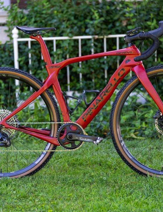 Red Pinarello Grevil