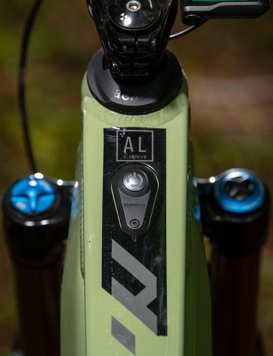 Nukeproof megawatt on off button
