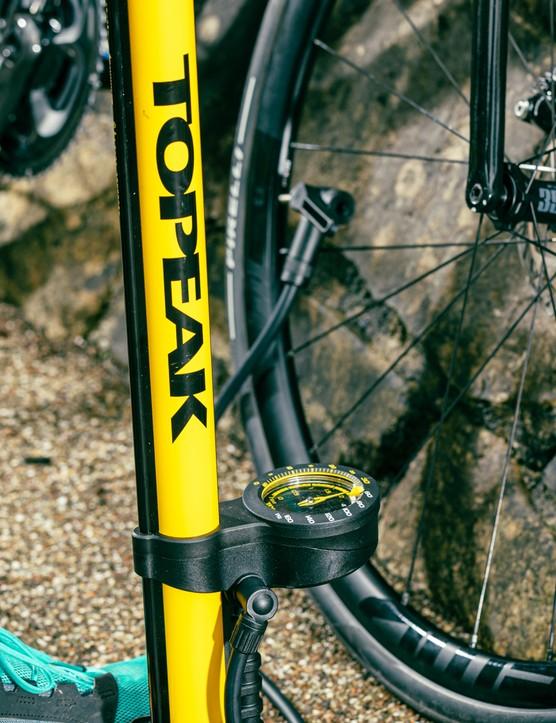 Road bike tyre pressure