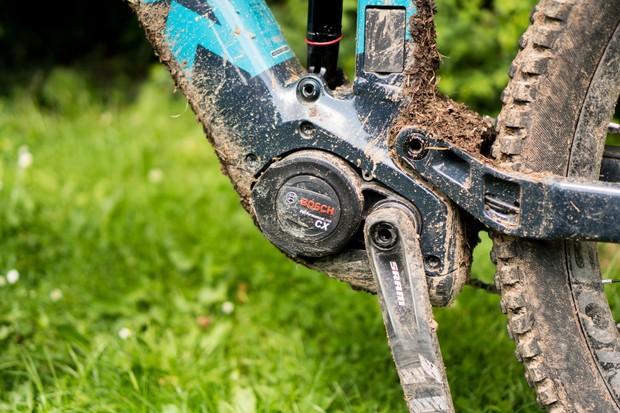 Trek Rail electric mountain bike with Bosch motor