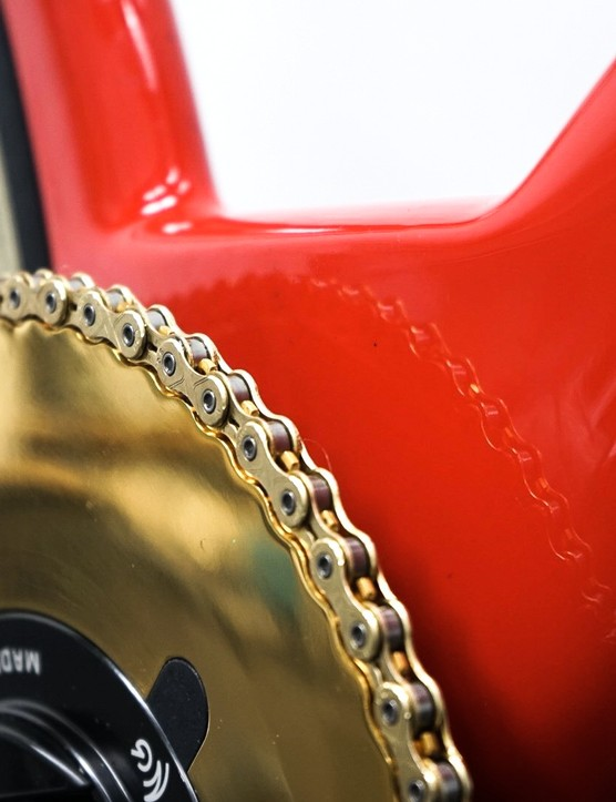 AeroCoach Aten Chainring close up