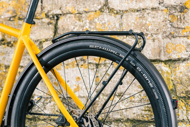 The Canyon Commuter 7 has plenty of racks, bosses and mounts.