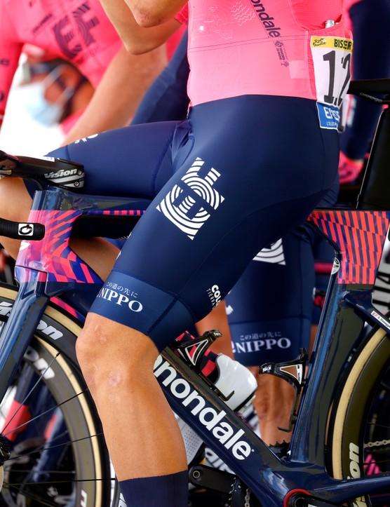 Stefan Bissegger at the 2021 Tour de France