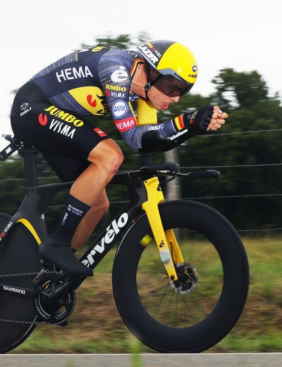 Wout Van Aert during stage 5 of the 2021 Tour de France