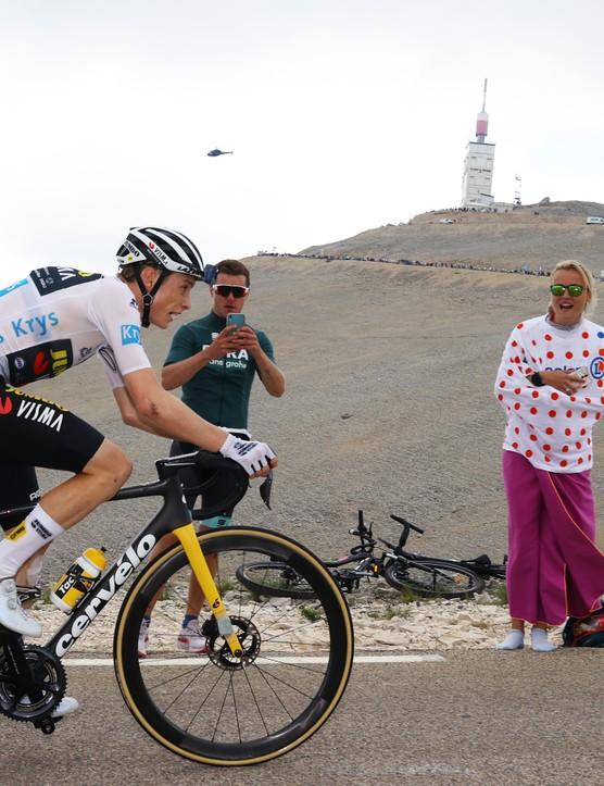 Jonas Vingegaard during stage 11 of the 2021 Tour de France