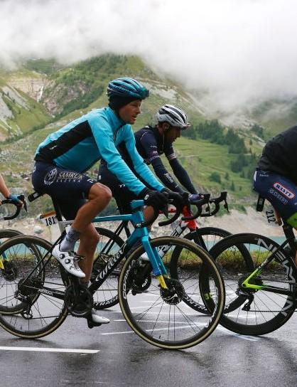 Jan Bakelants on a new Cube bike at the 2021 Tour de France