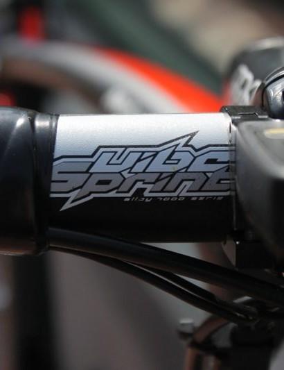 Mark Cavendish's Specialized McLaren Venge with Pro Vibe sprinter handlebar