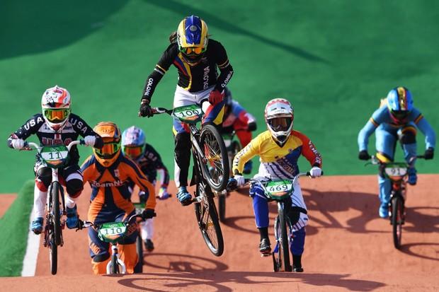 Course de BMX aux Jeux Olympiques