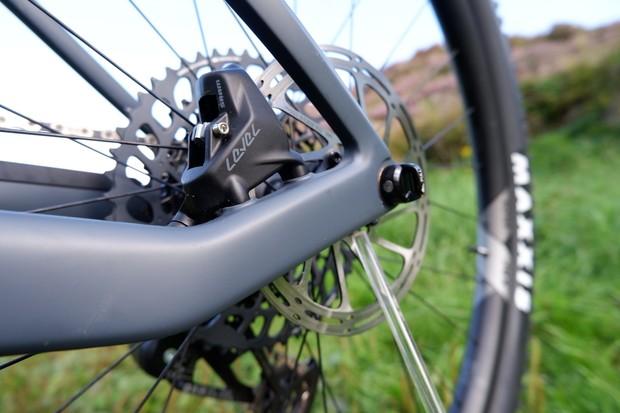 Canyon Lux Trail brake