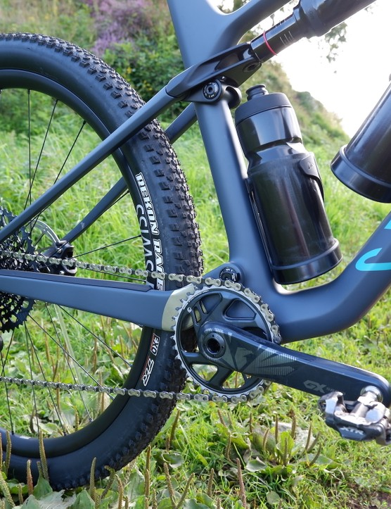 Canyon Lux Trail rear triangle