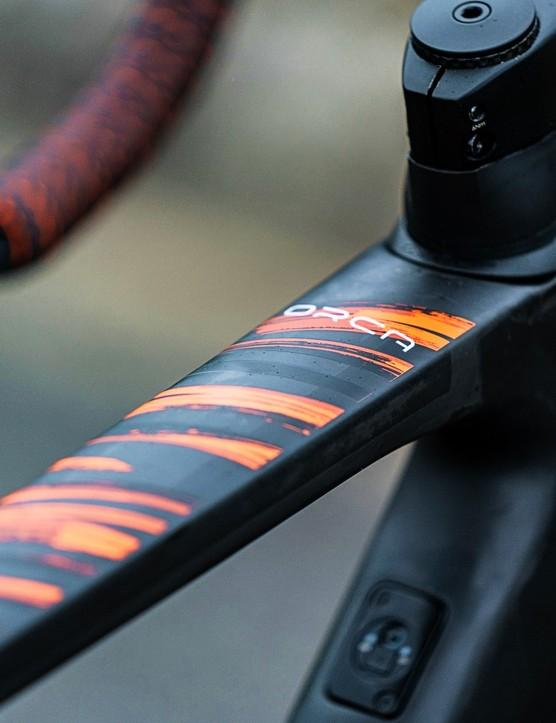 Euskaltel–Euskadi's Orbea Orca OMX for 2021 Vuelta a Espana