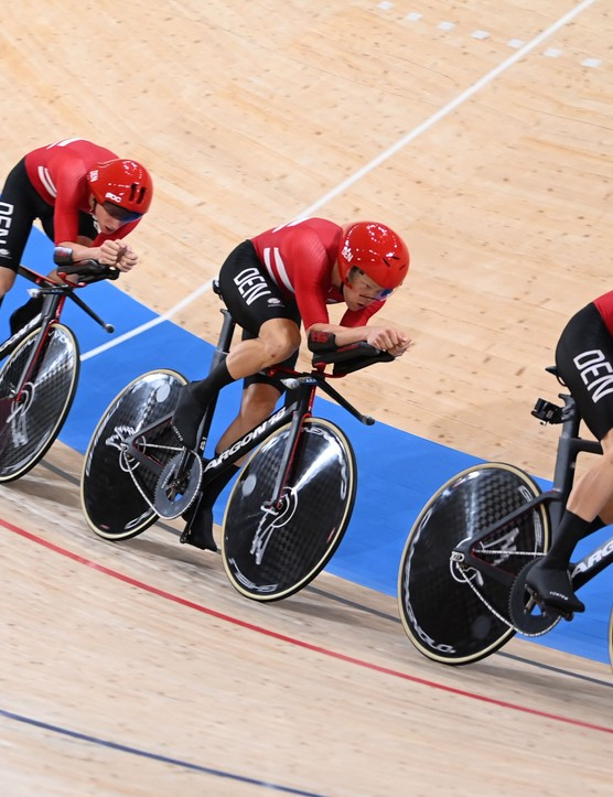 Denmark team pursuit squad at the Tokyo 2020 Olympic Games