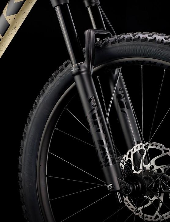 Trek Roscoe 9 hardtail mountain bike suspension fork