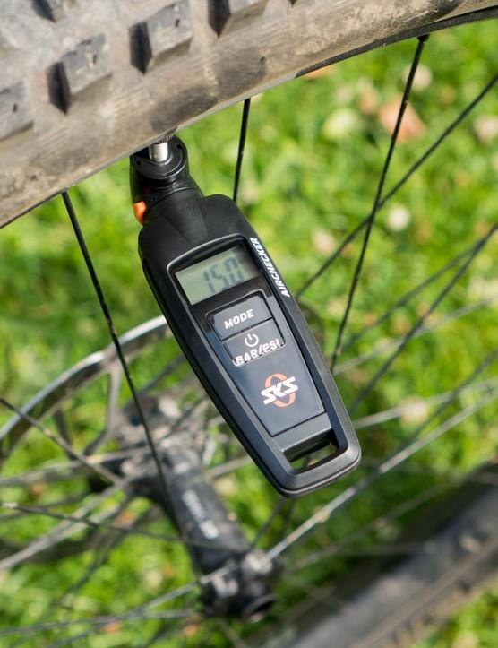 SKS Airchecker digital tyre air pressure gauge