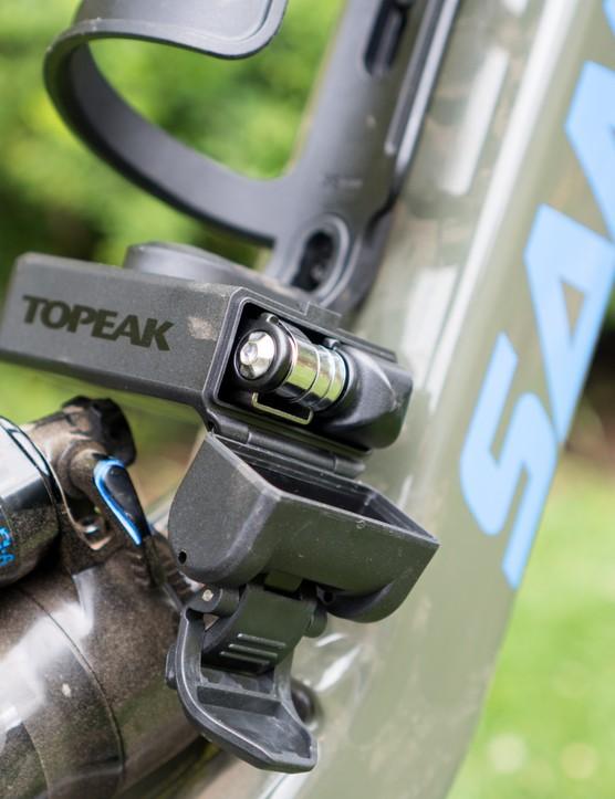 Topeak Ninja Master Cage SK and Topeak Toolbox T11 with Ninja Master Accessories