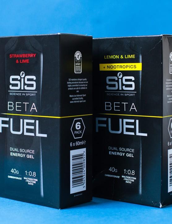 Science in Sport Beta Fuel gels