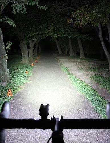 Cateye Ampp 550 bike light