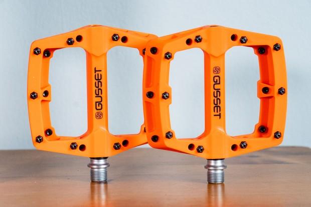 Gusset Slim Jim Nylon MTB pedals