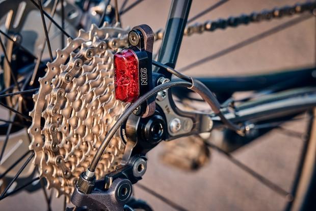 Rear dynamo light on Fairlight Strael