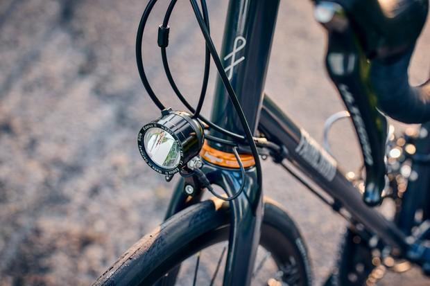 SON Edelux II dynamo headlight on Fairlight Strael