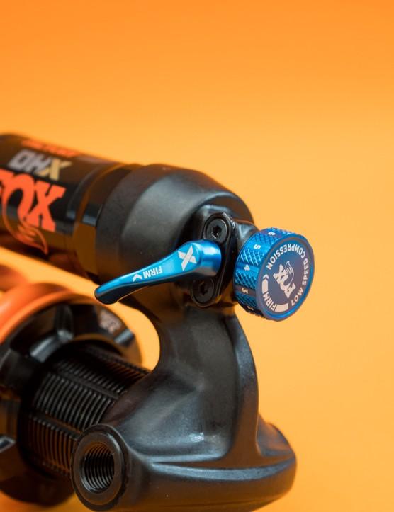 Fox Float X and Fox DHX mountain bike rear shocks