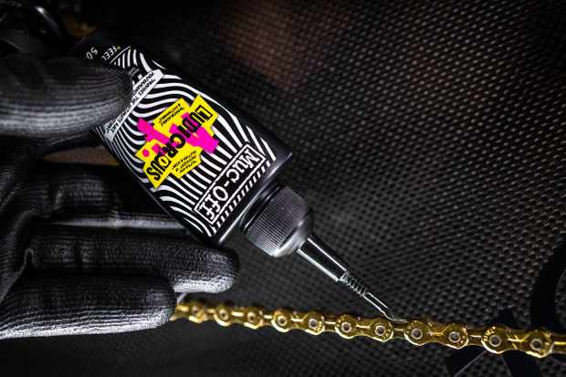 """Muc-Off claims ultra-expensive Ludicrous AF lube is """"the world's fastest chain lube"""""""