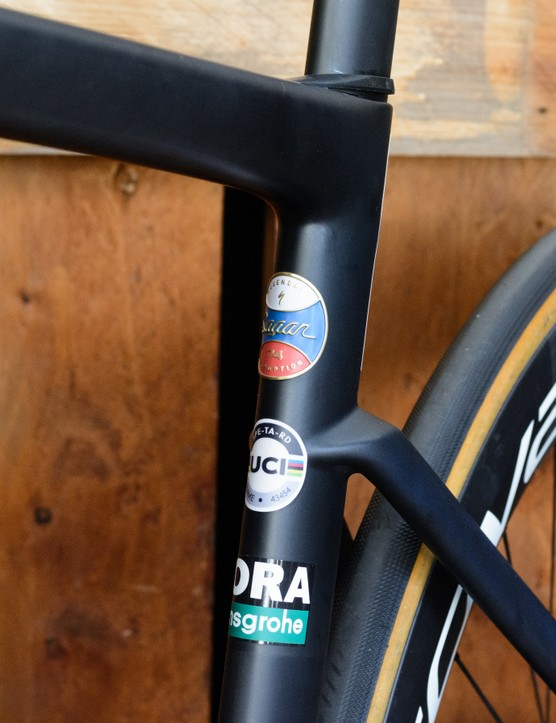 Peter Sagan's custom Specialized Tarmac SL7 for the 2021 UCI Road World Championships