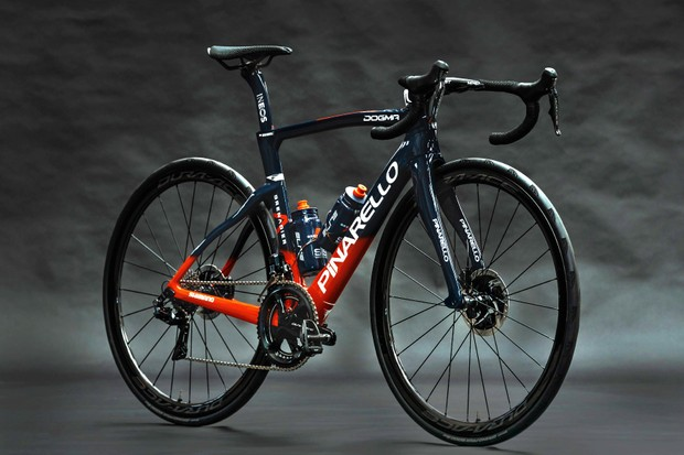 Team Ineos Grenadiers to switch to disc brakes