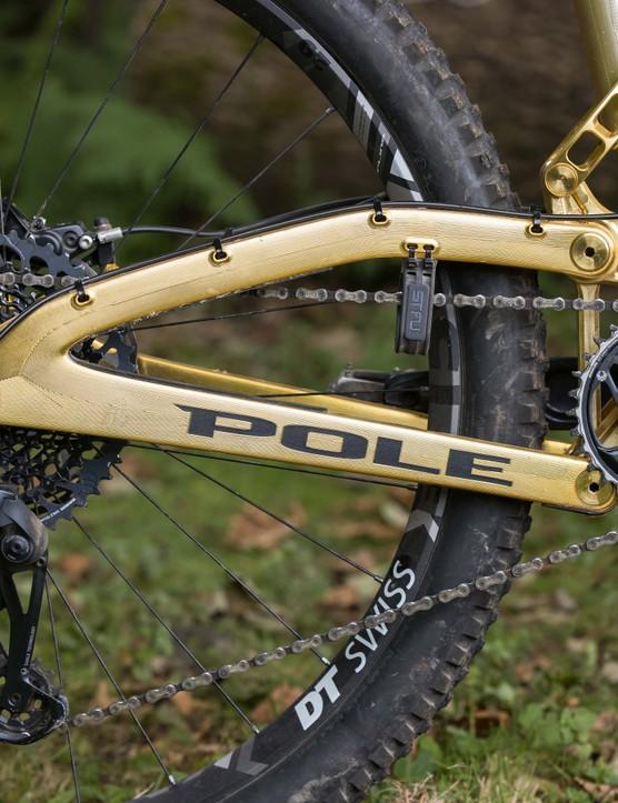 Pole Stamina 160 Remastered enduro mountain bike
