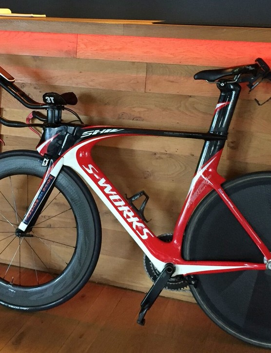 Michael Broadwith's Specialized Shiv time trial bike